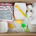 Trousse de toilette bébé: que prévoir?
