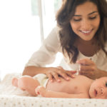 Soins bébé: comment apaiser les réactions de la peau?